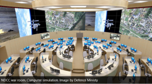 NDCC War room in central Moscow. Click to enlarge