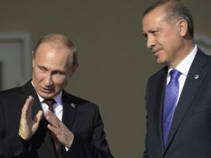 Putin and Erdogan during friendlier times. Click to enlarge