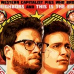 Poster for the Interview, the movie that sparked the current controversy. Click to enlarge