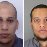 Prime suspects: brothers Cherif (32) and Said Kouachi (34). Click to enlarge