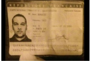 ID card recovered from abandoned getaway car. Click to enlarge.