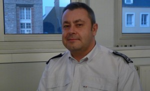 Police Commissioner Helric Fredou. Click to enlarge