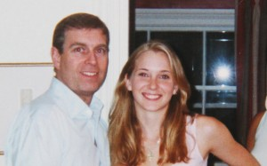 Prince Andrew firsr met Virginia Roberts in London in 2001, when she was 16. Click to enlarge
