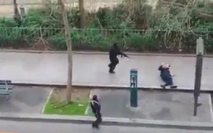 Charlie Hebdo Shootings – Censored Video