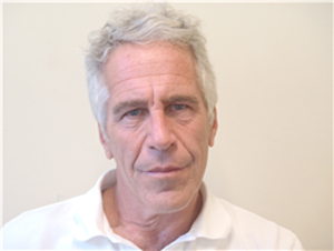 Jeffrey Epstein in custody.