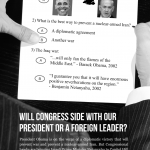 Full page NY Times advert slams Netanyahus upcoming speech to Congress. Click to enlarge