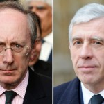 Malcolm Rifkind (left) and Jack Straw (right). Click to enlarge