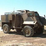 Saxon armoured vehicle. Click to enlarge