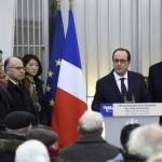 "January 27, 2015, President François Hollande made ""conspiracy theorists"" responsible for the crimes committed by the Nazis against the Jews of Europe. He called for a ban on their freedom of expression."