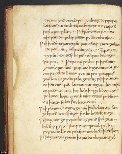 Potion listed in a thousand-year-old Anglo-Saxon manuscript. Click to enlarge