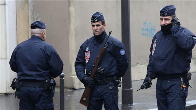 Troops patrol French streets following the Charlie Hebdo attack. Click to enlarge