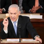 Netanyahu makes his case to Congress. Click to enlarge