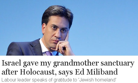 Ed Miliband claims that the Daily Mail article smears the reputation of his late father.