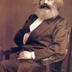 Rothschild agent Chaim Mordecai (aka Karl Marx) makes Masonic sign