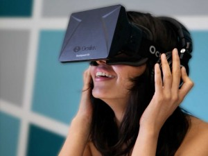 Virtual reality headset. Click to enlarge