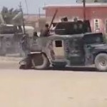 Iraqi government forces flee Ramadi.