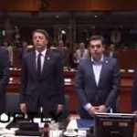 The European Council of April 23, 2015 observed a minute of silence in memory of lost migrants' lives in the Mediterranean
