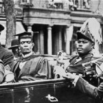 Second from right, Marcus Garvey, Jamaican Pan African Leader. Click to enlarge