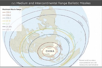 PLA missile ranges. Click to enlarge