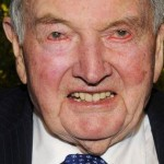 David Rockefeller. Truly he wouldn't be out of place in a Dracula or Frankenstein movie.