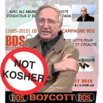 BDS Excommunicates the Great Jacob Cohen
