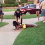 Video still of the incident at the pool. Click to enlarge