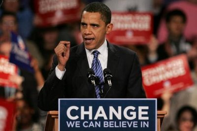 Change we can believe in