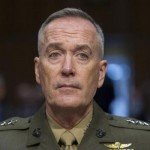 Marine Corps Commandant Gen. Joseph Dunford, Jr., testifies during his Senate Armed Services Committee confirmation hearing to become the Chairman of the Joint Chiefs of Staff, on Capitol Hill, Thursday, July 9, 2015
