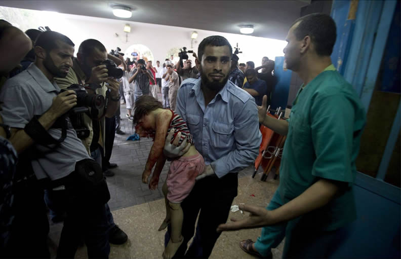 Dead Palestinian girl, courtesy U.S. taxpayer funded arms to Israel