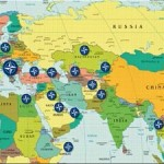 NATO bases surround Russia