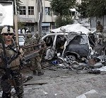 3 US contractors killed in Afghanistan after suicide car bomber hits NATO convoy