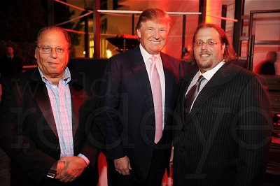 Donald Trump is the front-man for the Israeli Michael Dezertzov (left) and his son Gil (right). Why is Trump working with Israelis and what does that say about his ability to speak freely about what happened on 9-11?