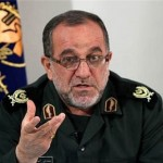 """We should thank Obama for refreshing us by referring to his 'Options On The Table', including the military one; we just relax and laugh at such ridiculous words,"" Brig. General Mohammad Ali Asoudi told IRGC forces. Click to enlarge"