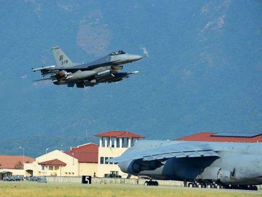Five F-16 Fighting Falcons and nearly 300 Air Force personnel deployed to Turkey for campaign against Islamic State.