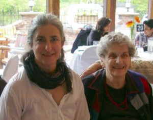 Katherine Jaconello and her mother on Mother's Day, 2013. Click to enlarge