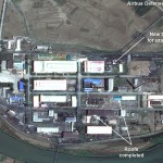 Satellite image of the Pyongsan Uranium Concentration Plant