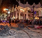 At least 18 killed in bomb blast near Hindu shrine in Bangkok
