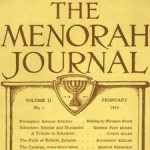 The Menorah movement was an attempt to define American Jewish life in non-Zionist terms.