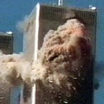 WTC North Tower explosion