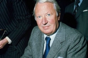 Heath was prime minister from 1970 to 1974. Click to enlarge