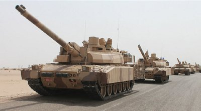 United Arab Emirates Leclerc tanks.