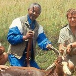 Nelson Mandela hunting. Click to enlarge