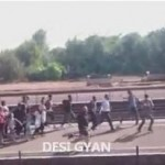 "Video: 'Refugees' Throw Rocks at Hungarians, Shout ""F**k You!"""