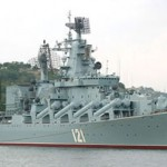 Russian cruiser Moskva is stationed off the coast of Latakia armed with 64 S-300s