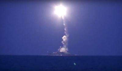 1Russian cruise missile launch