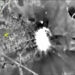 A frame grab taken from video released by the Russian Defence Ministry October 1, 2015, shows Russian jets hitting a target in Syria, which the Kremlin says includes a list of well-known militant organizations and not only Islamic State. REUTERS/Ministry of Defence of the Russian. Federation/Handout. Click to enlarge