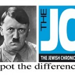 Adolph Hitler vs. The Jewish Chronicle - Spot The Difference
