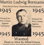 Bormann wanted poster. Click to enlarge