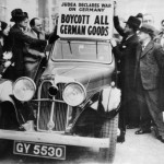 Jews in 1930's England fomenting war with Germany. Click to enlarge