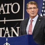 Ashton Carter at NATO headquarters in Brussels